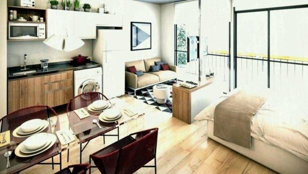 Interior Design Small Apartments Creative Studio Apartment