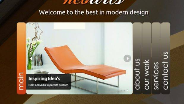 Interior Design Website Templates Identify