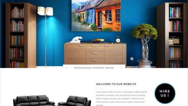 Interior Design Website Templates Themes Premium