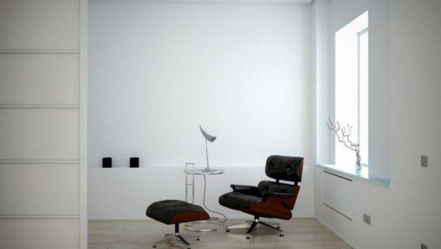 Interior Design White Walls Black Chairs Dining
