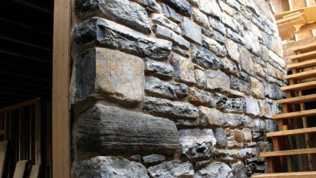 Interior Natural Stone Wall Design Ideas