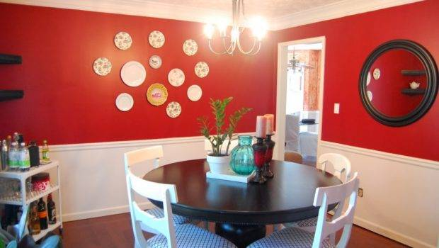 Interior Red Color Painting Ideas Walls