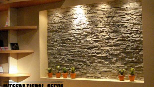 Interior Stone Wall Tiles Design Ideas Modern