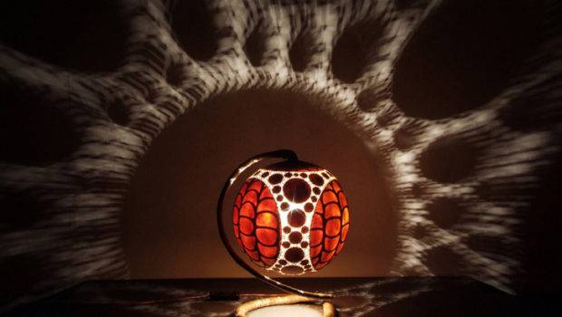 Intricately Carved Gourd Lamps Cast Magical Shadows Your Walls