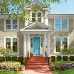 Inviting Home Exterior Color Ideas Outdoor Design Landscaping