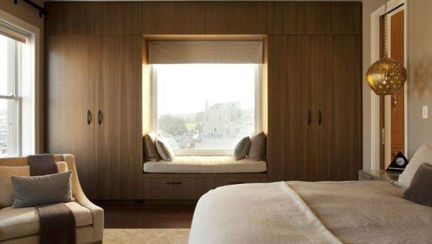 Jackson Penthouse San Francisco Modern Bedroom Window Seat