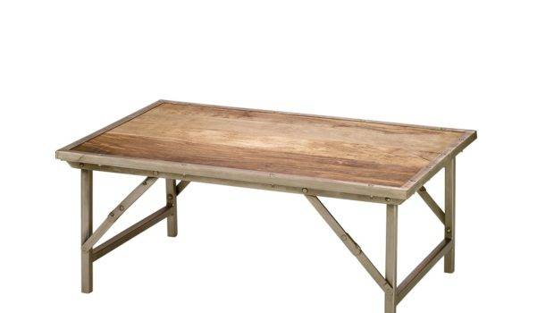 Jamie Young Campaign Folding Coffee Table Bixby Ball