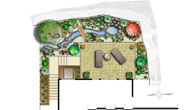 Japanese Garden Design Plans Landscape