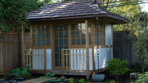 Japanese Garden Sheds Creative Other Tiny Structur