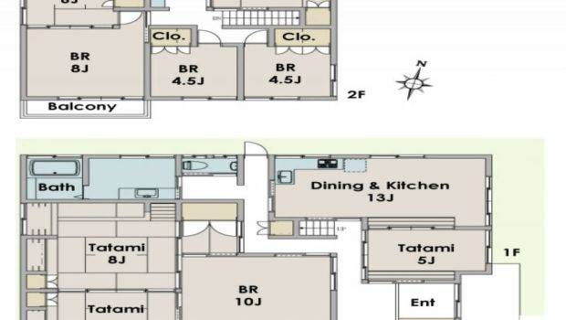 Japanese Home Floor Plan New Traditional House