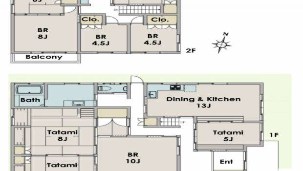 Japanese Ideas Traditional House Floor Plan Rated