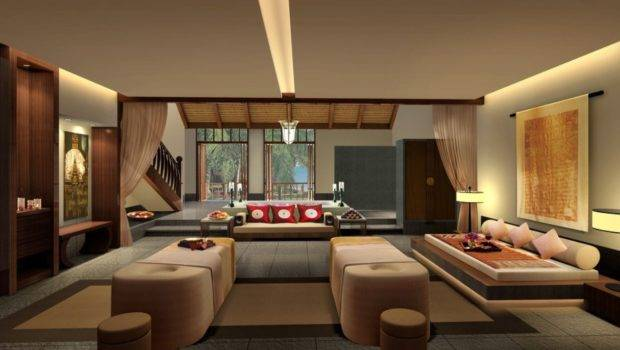 Japanese Living Room Interior Design House