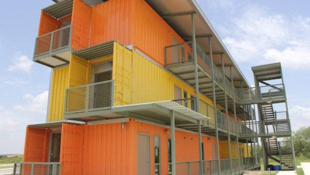 Jetson Green Shipping Container Apartment Complex Goes