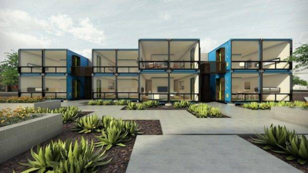 Jetson Green Shipping Container Apartments Coming
