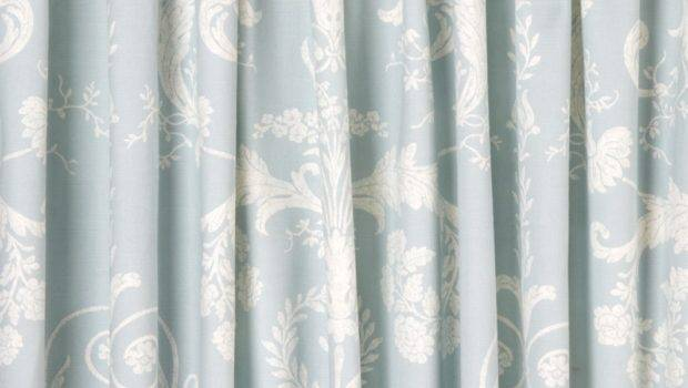 Josette Duck Egg Ready Made Curtains Laura Ashley