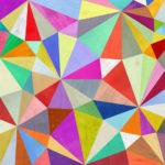 Kaleidoscope Geometric Art Print Two Ems Modern