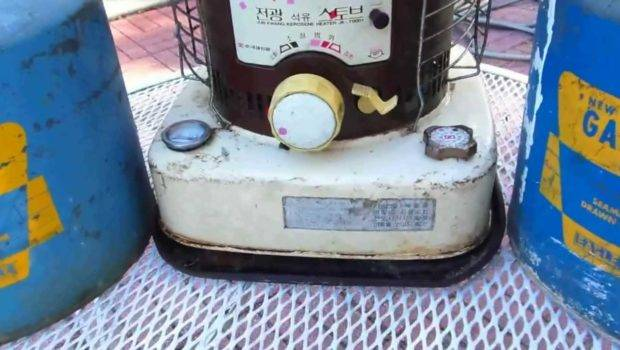 Kerosene Heater Best Way Heat Youtube