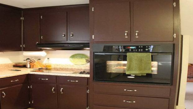 Kitchen Cabinet Painting Color Ideas Natural Brown