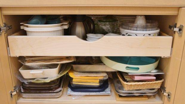 Kitchen Cabinet Rolling Shelves Galley