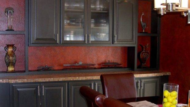Kitchen Cabinets Black Painting