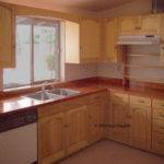Kitchen Cabinets Counter Top Made Cherry Ash
