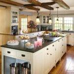 Kitchen Cabinets Traditional White Island Sink Ceiling