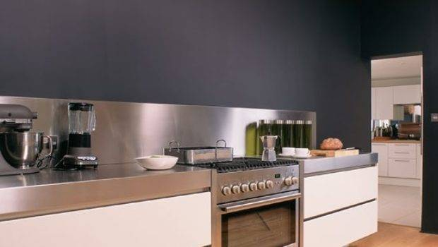 Kitchen Charcoal Grey Wall