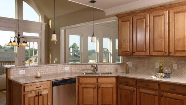 Kitchen Color Ideas Oak Cabinets Beautiful