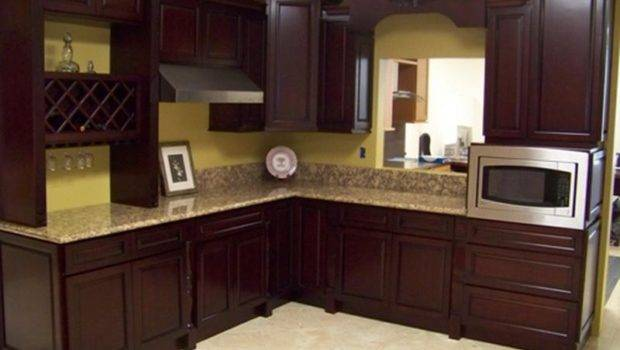Kitchen Color Schemes Wood Cabinets Cabinet Colors