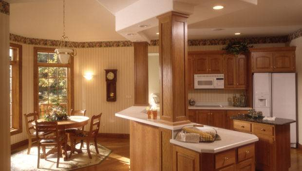 Kitchen Columns Most Cases Used Supports Enlarging Room