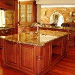Kitchen Country Color Ideas Oak Cabinets