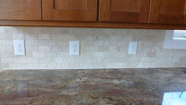 Kitchen Decoration Subway Tile Backsplash White