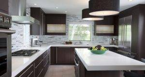 Kitchen Design American Modern Decoration Effect