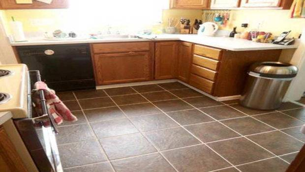 Kitchen Floor Small Best Tile