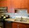 Kitchen Glass White Subway Tile Backsplash Ideas Brown