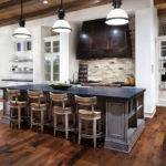 Kitchen Island Breakfast Bar Hill Country Modern Austin Texas