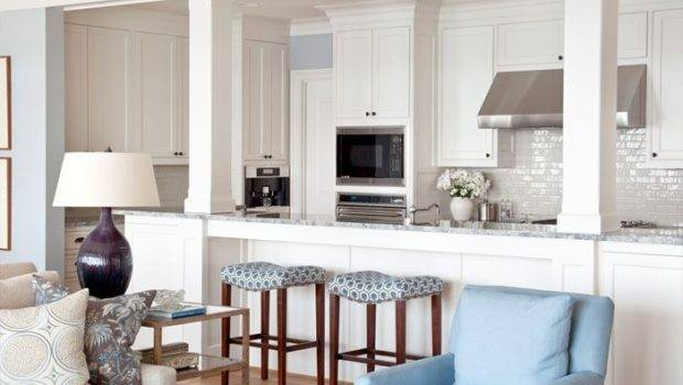 Kitchen Island Columns Love Ideas Addition Pinterest