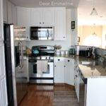 Kitchen Redo Part Five Painting Cabinets Nuvo Cabinet Paint