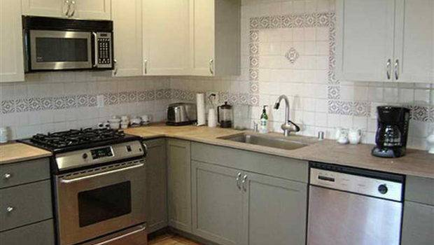 Kitchen Repaint Cabinets Small