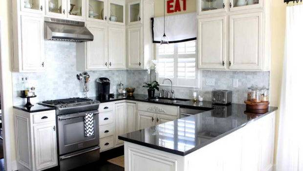 Kitchen Small White Kitchens Design