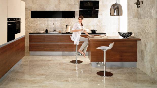 Kitchen Tile Flooring Designs