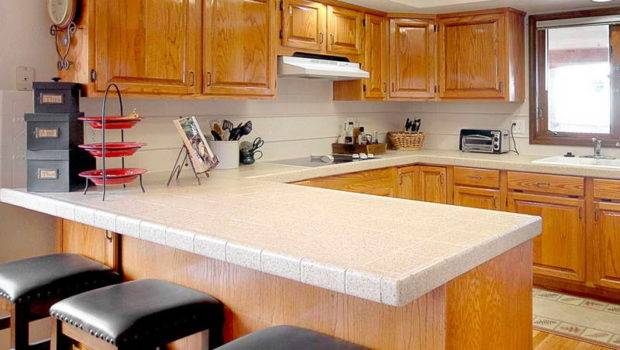 Kitchen Types Countertops Wood Stool Choose Best