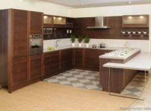 Kitchens Modern Dark Wood