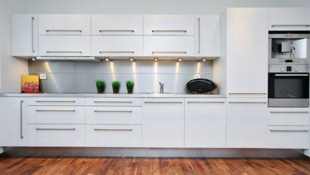 Kitchens Modern White Kitchen Cabinets