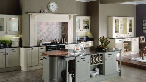 Kitchens Traditional Trend Painted Ivory French Grey