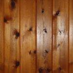 Knotty Pine Wood Wall Paneling Texture High