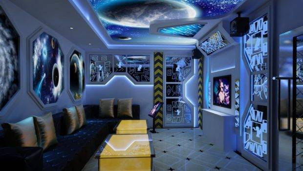 Ktv Pinterest Red Couches Ceiling Design Interior