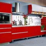 Lacquer Kitchen Cabinet Kclw China