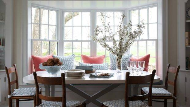 Ladder Back Chairs Transitional Dining Room Kerry Hanson Design