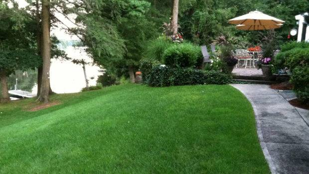 Lakeside Lawn Using Pearl Premium Lush Healthy Requires